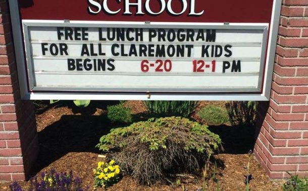 Children's Community Lunch To Be Served In Claremont