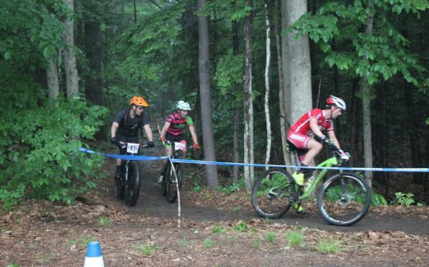 All In At Moody Park Bike Race