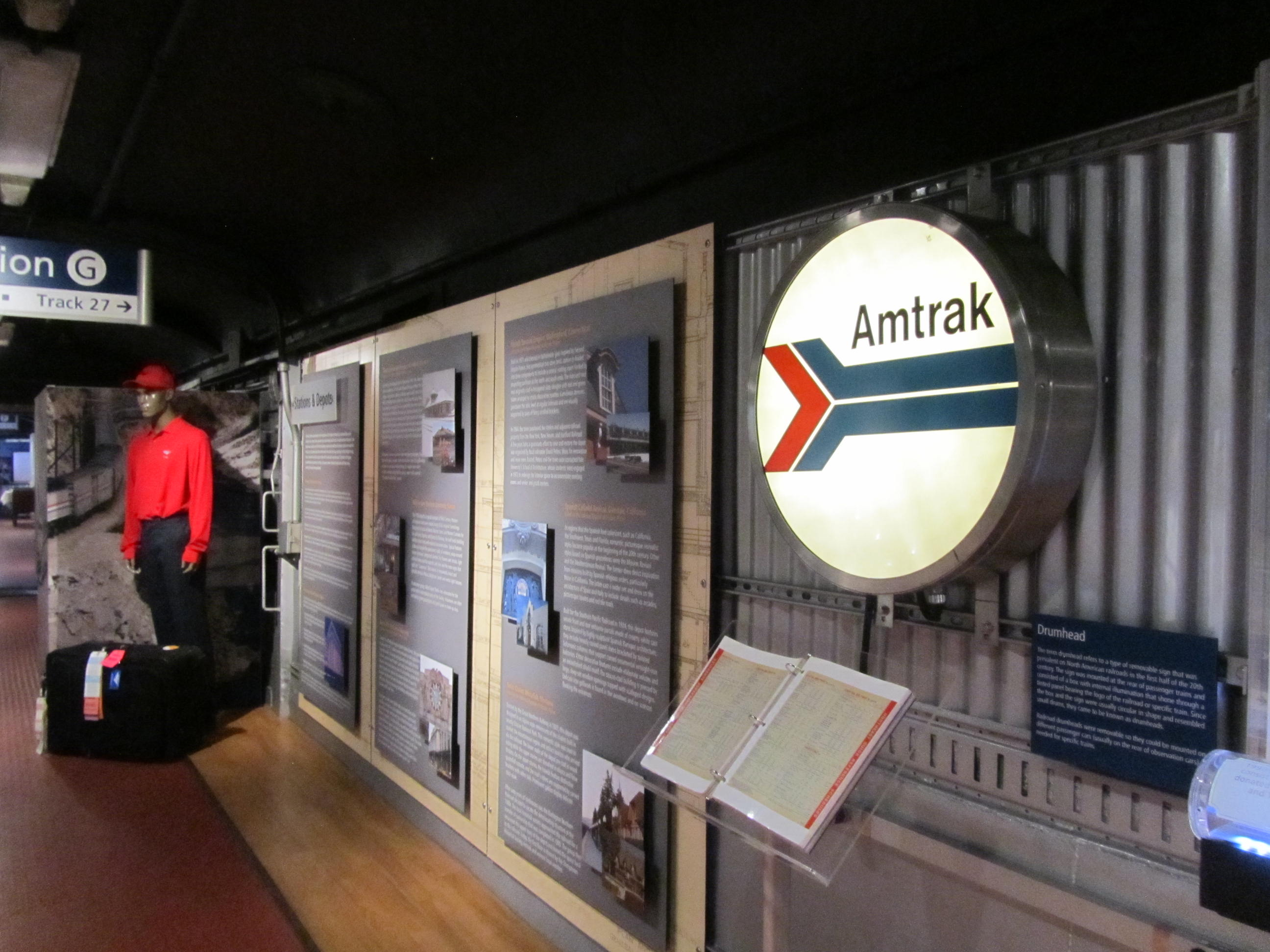 All Aboard the Amtrak Exhibit Train!