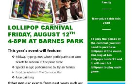 Lollipop Carnival Update