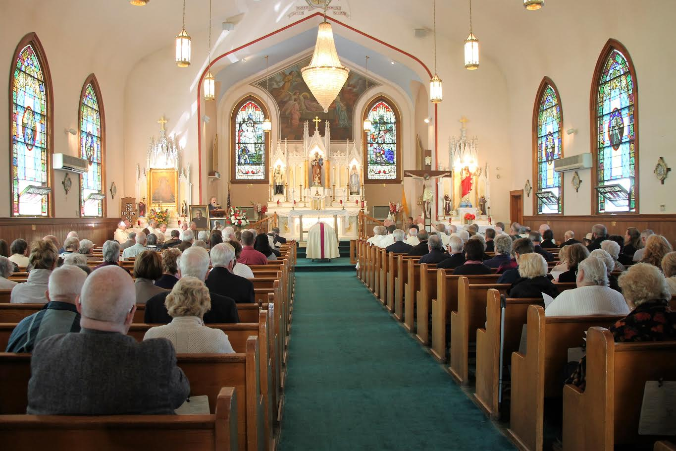 Funeral Mass For Rev. George Majka
