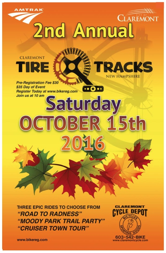 Tire Tracks Event On Saturday