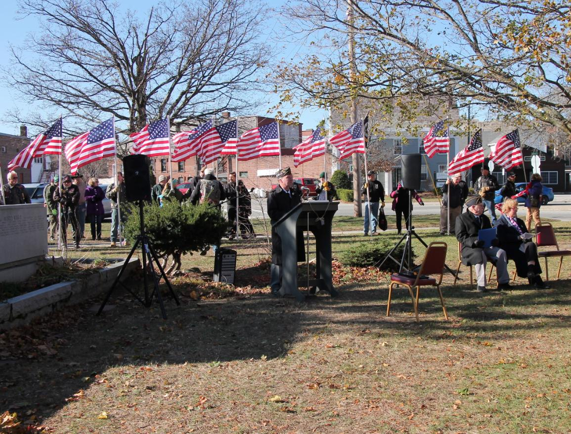 Honoring Veteran's Day in Claremont