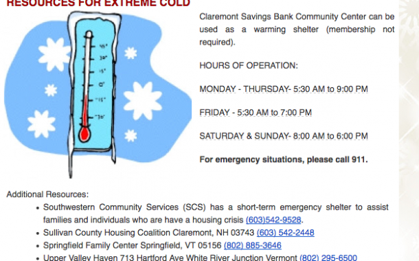 Resources for Extreme Cold