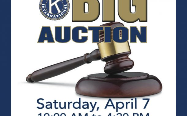 Time for the Kiwanis Auction!