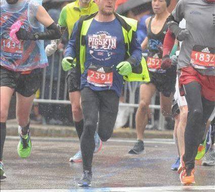 Claremont's Marathon Man