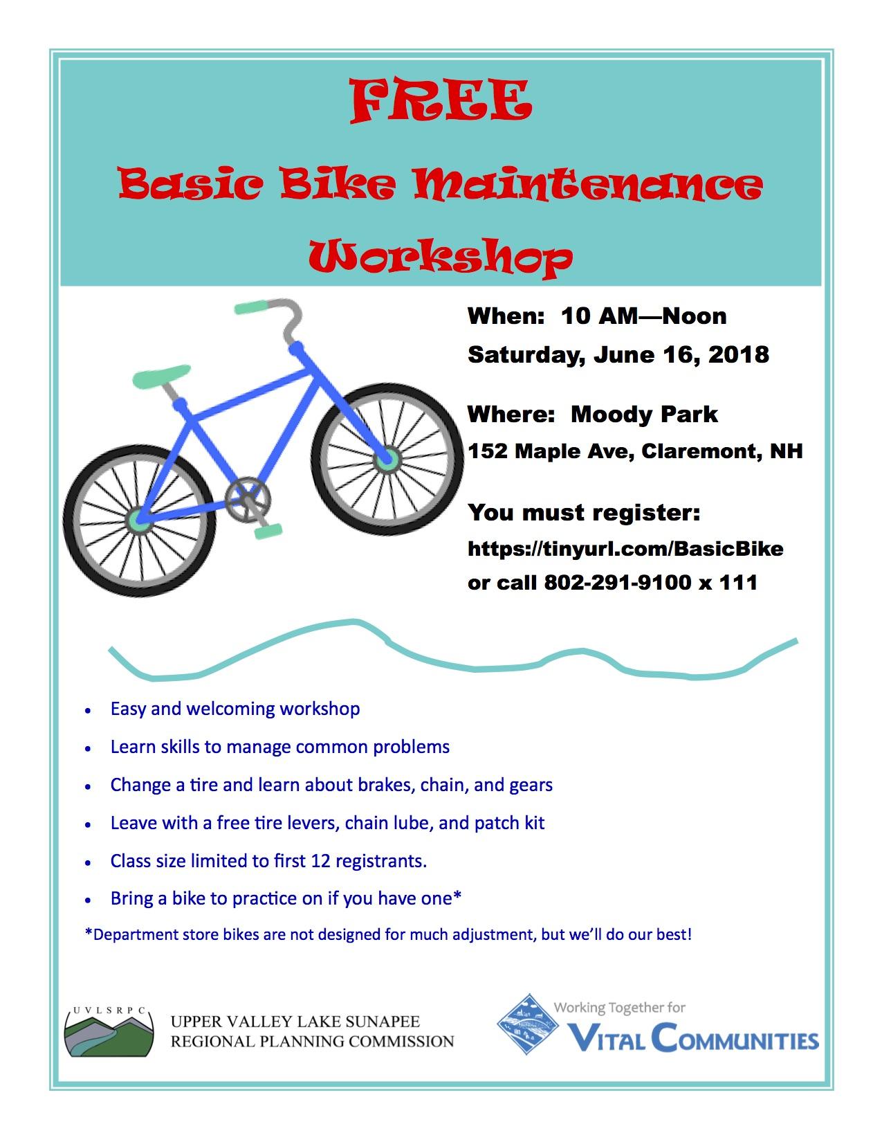 Bike Maintenance Program