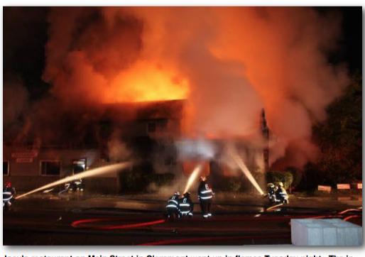 2014 Claremont Restaurant Fire Results in Arson Conviction