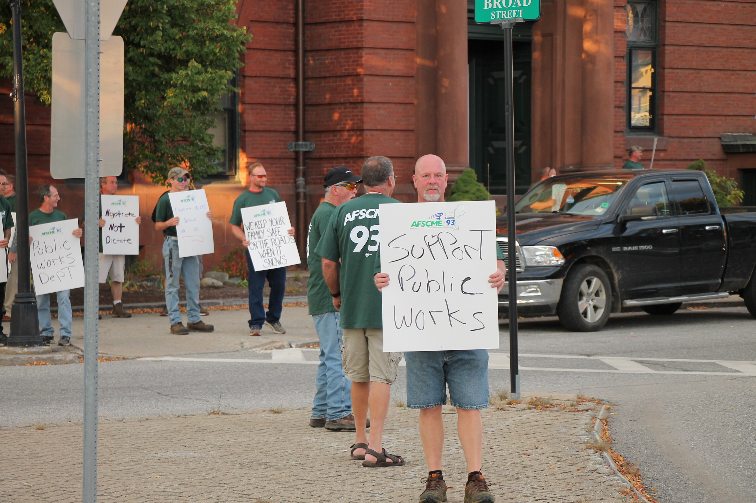 Protesting Lack of Contract