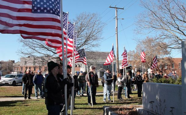Veteran's Day Marked in Claremont