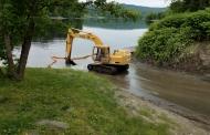 Work at Boat Landing