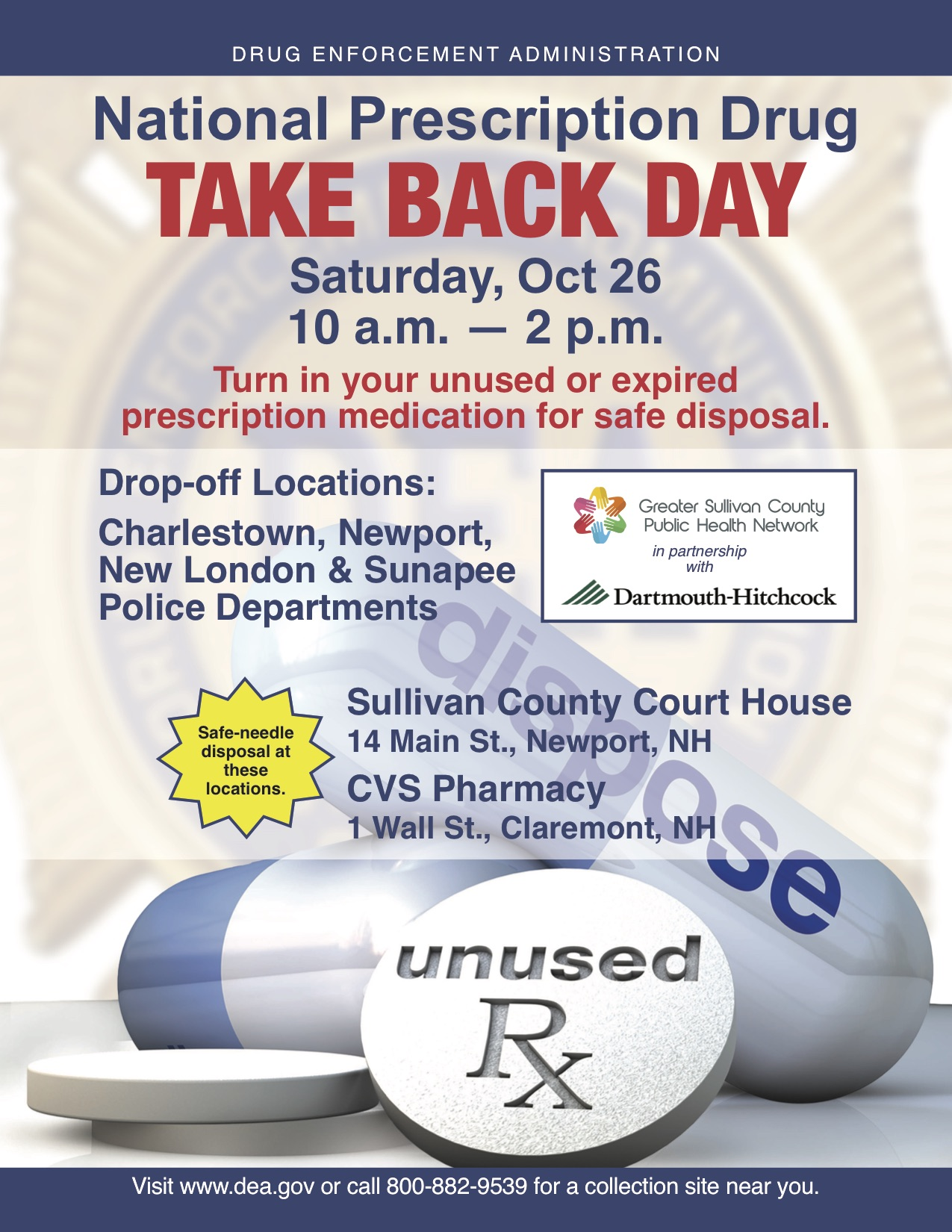 Take Back Drug Day