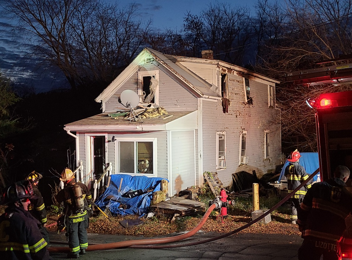 CFD Called to Structure Fire Sunday