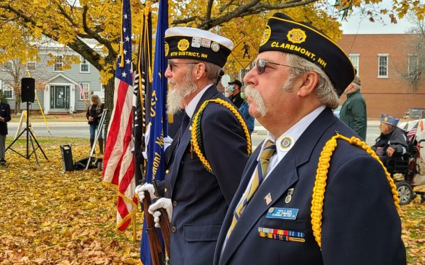 Veterans Day Ceremonies in Claremont
